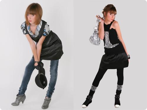 Платья осень 2012