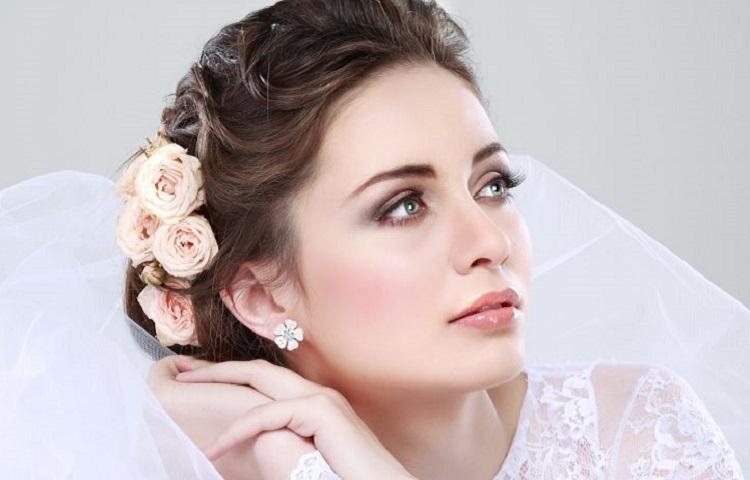 Свадебный макияж для зеленых глаз - пошаговое фото