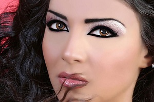 Восточный макияж - как сделать красивый мейк для карих и голубых глаз в арабском стиле