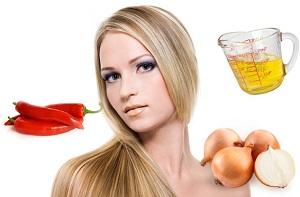 Питательная маска для роста волос с перцем - рецепт приготовления