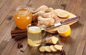 Напитки с корнем имбиря для похудения - рецепты