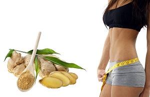 Результаты похудения с помощью корня имбиря