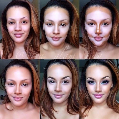 Фото лица после применения консилера