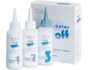 Средство для профессиональной смывки краски с волос в домашних условиях