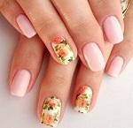 Дизайн коротких ногтей - множество идей эффектного маникюра