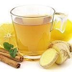 Рецепт приготовления чая с имбирем, лимоном и медом для похудения