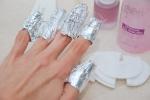 Как быстро и легко снять шеллак с ногтей самой себе