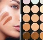 Как наносить разноцветные консилеры на лицо для эффектного макияжа