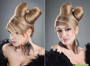 Как сделать прическу Бант из волос для романтического свидания
