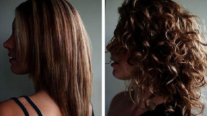 Карвинг на волосах средней длины для создания долговременной укладки