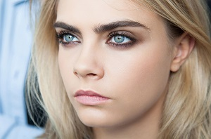 Макияж для голубых глаз - подходящие оттенки теней и необходимая палитра цвета