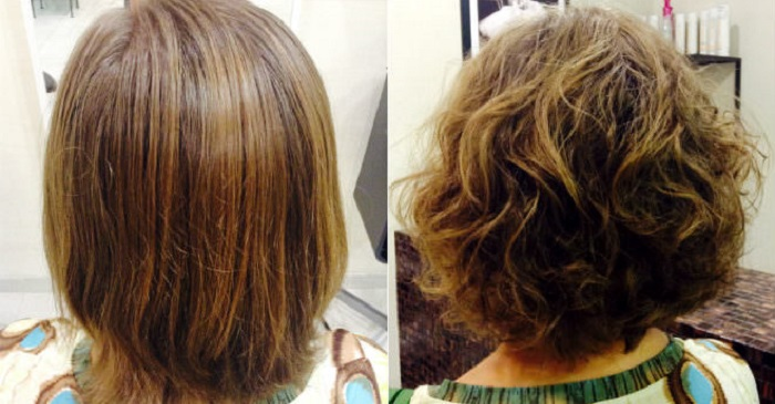 Результаты и эффект после процедуры карвинга волос на короткой длине