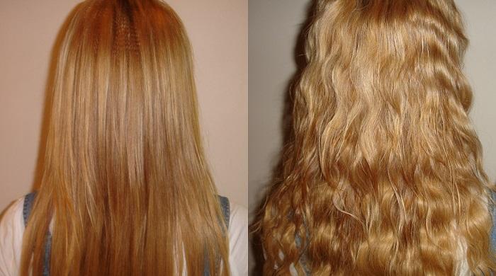 Секрет создания красивых локонов на длинных волосах с помощью карвинга