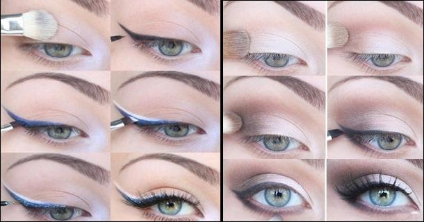 Секреты идеального макияжа для голубых глаз на каждый день