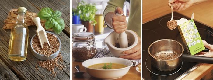 Полезные рецепты приготовления льняного семени для очищения кишечника