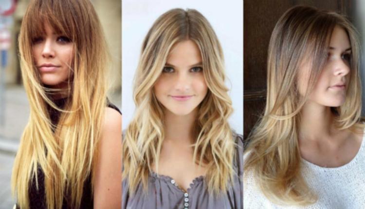 Балаяж на светлые волосы - как это выглядит
