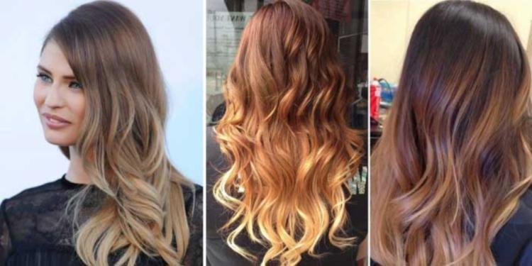 Фото покраски волос в стиле шатуш