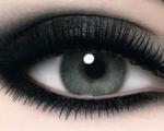 Макияж смоки айс для серых глаз и его особенности