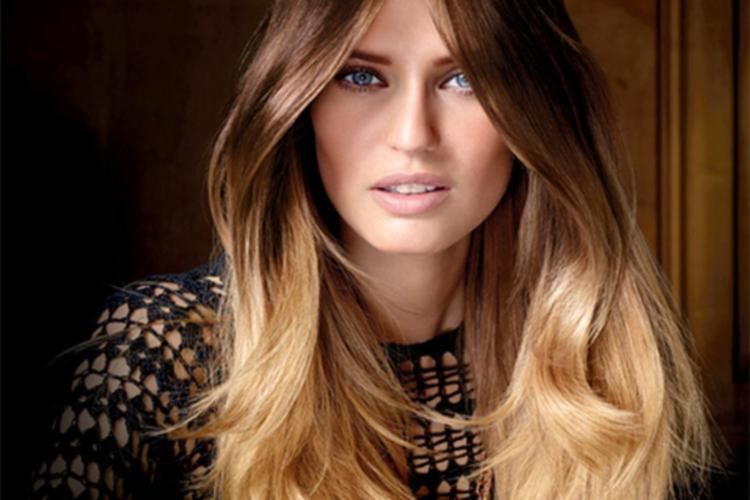 Методика окрашивания темных волос - шатуш