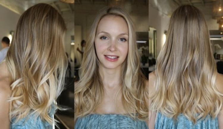 Светло-русые волосы и шатуш - совместимо ли