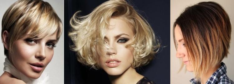 Техника окрашивания коротких русых волос балаяж