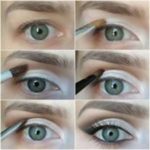 Возможности макияжа для серых глаз с нависшим веком