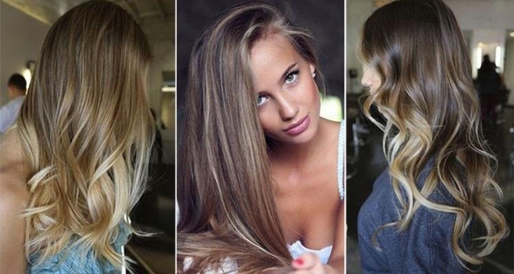 Колорирование на темно-русых волосах - техника окрашивания