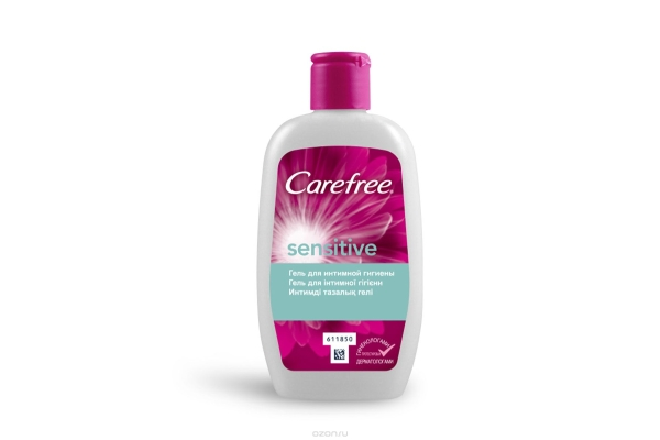 Как правильно подмываться женщине: Carefree Sensitive