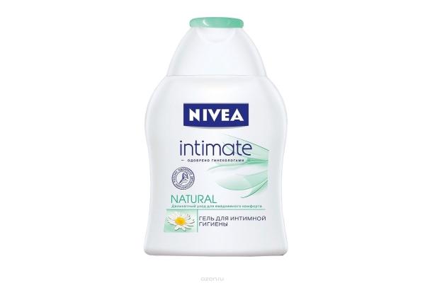 Как правильно подмываться женщине: Intimate Natural гель от Nivea
