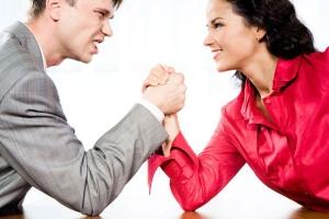 Ошибка восьмая: женщина соревнуется с мужчиной