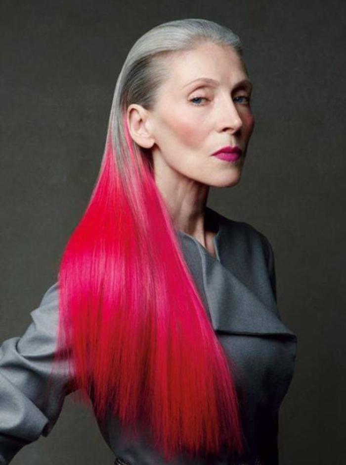 Особенности покраски в стиле гранж для длинных волос