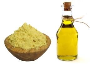 Маска с оливковым маслом и горчицей для ускорения роста волос