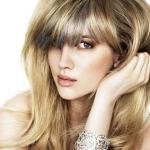 Как провести колорирование русых волос средней длины?