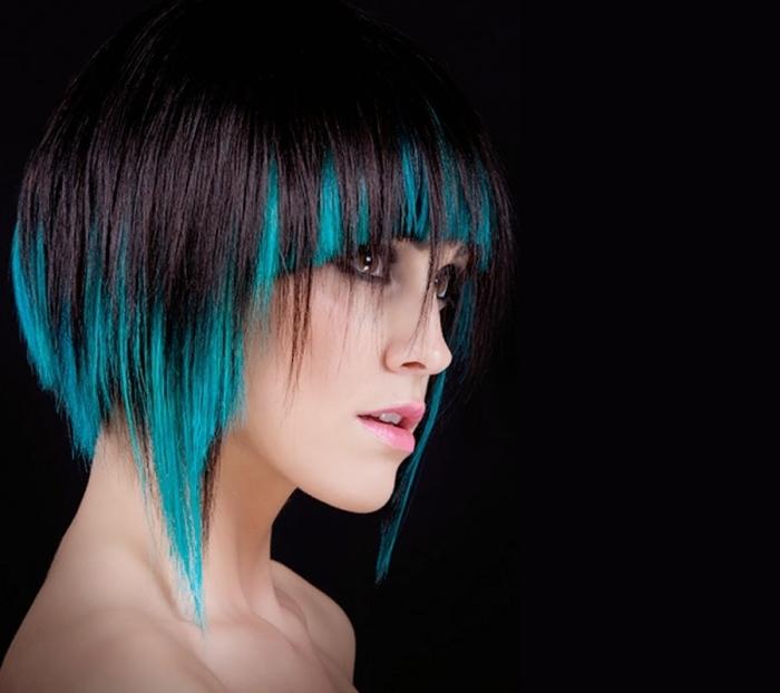 Особенности покраски в стиле гранж для коротких волос