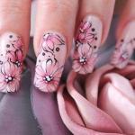 Как сделать рисунки акриловой краской на ногтях самостоятельно?
