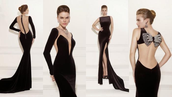 Сочетание цветов в одежде для женщин: вечерний стиль
