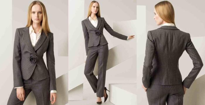 Сочетание цветов в одежде для женщин: классический стиль
