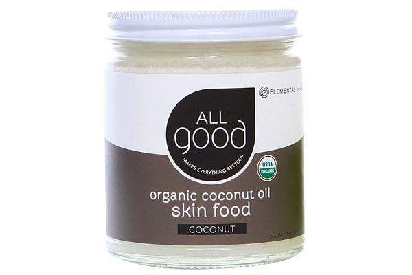 Кокосовое масло для волос All Good, Elemental Herbs, США