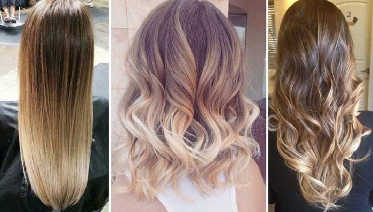 Как выглядит окрашивание омбре на длинных и коротких волосах