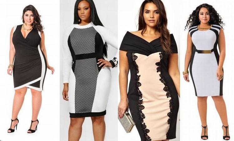 Какие нарядные платья лучше всего подойдут для полных женщин