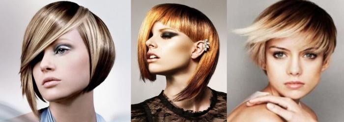Омбре на короткие волосы с челкой - стоит ли краситься