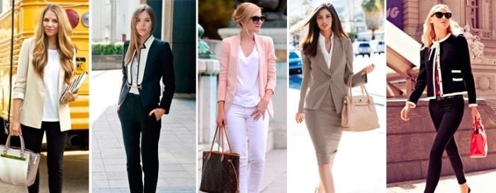 Пиджаки и жакеты для базового гардероба женщины после 30 лет