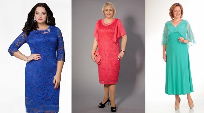 Подбор рукава для нарядного платья женщины 50 лет