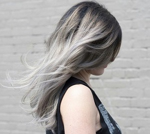 Правильный уход за волосами после пепельного омбре на темные волосы