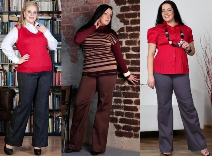 Варианты базового гардероба для полных женщин после 40 лет