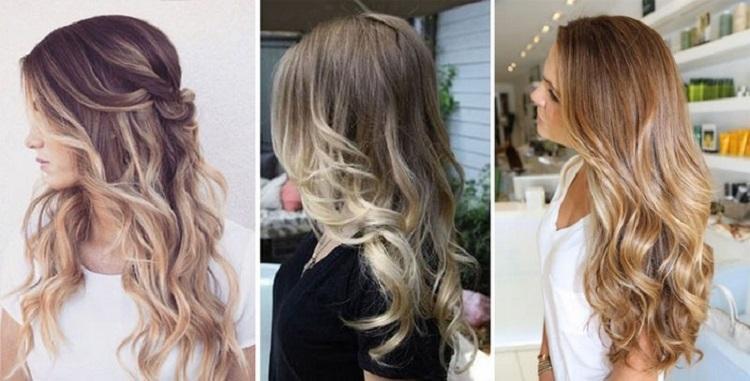 Все о технике окрашивания в стиле омбре на русых волосах средней длины