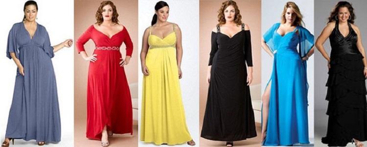 Выбор платья на торжество - какой вариант лучше всего подойдет для полных женщин