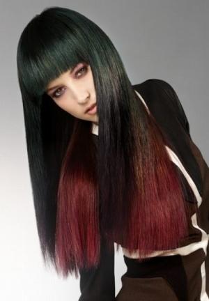 Омбре на длинные волосы: как сделать дома самостяотельно?