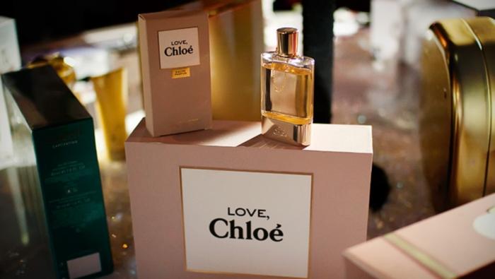 Пудровые духи Love Chloe