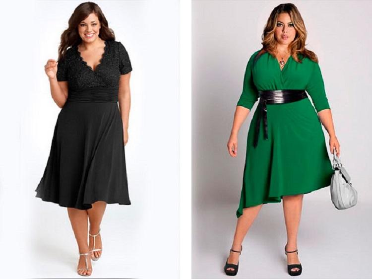Какие модели платьев больше всего подходят для полных женщин
